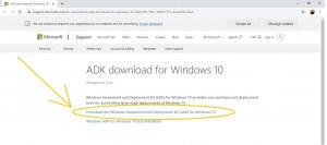 Инструкция по DaVinci Resolve 16: установка минимальных системных требований: Шаг 4 - скачать Windows Assessment and Deployment Kit (ADK)